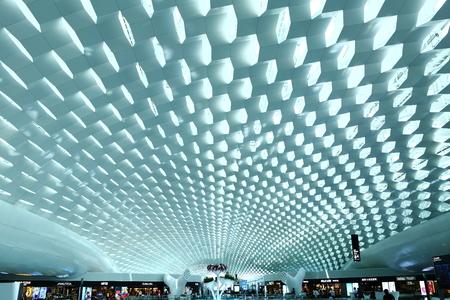 深セン空港 報道画像