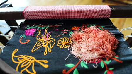 miao: Miao embroidery