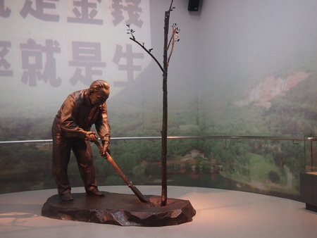 deng xiaoping: Shenzhen Museum exhibits Editorial