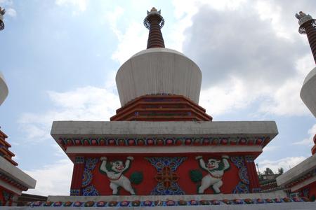 shamanism: Qinghai Kumbum monastery