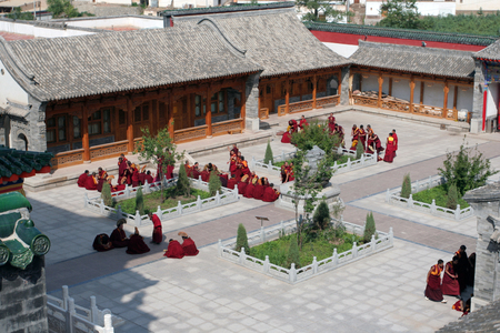 monastery: Qinghai Kumbum monastery