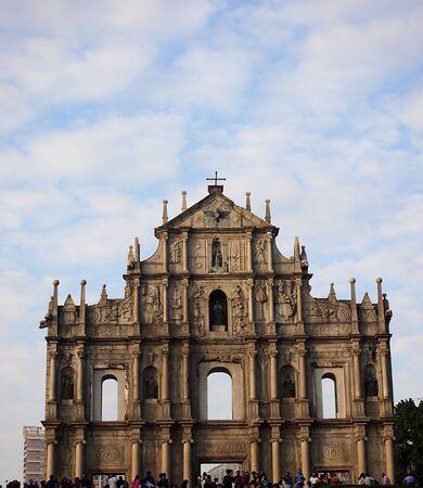 macau: Tourists scenic area in Macau Editorial