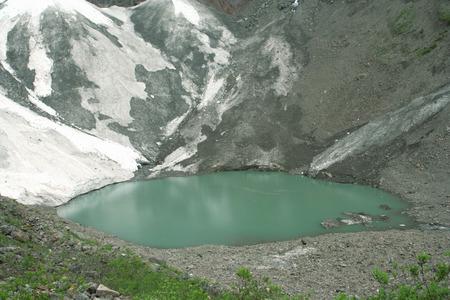 scour: Yubeng ice lake