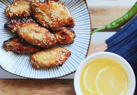 fried chicken wings: Chinese fried chicken wings