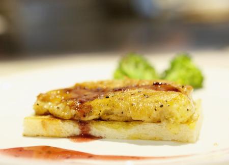 lustre: Cheese foie gras