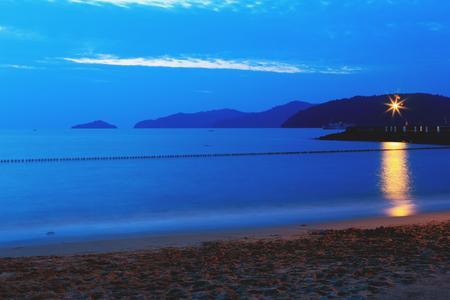 soften: Sabah beach scenery