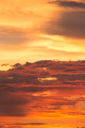 sunset clouds: Photos background sunset in Thailand.