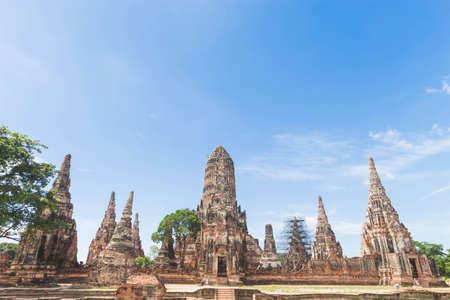 Wat Chaiwatthanaram in Ayutthaya province. Editorial