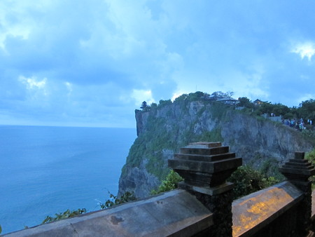Uluwatu Temple at Bali, Indonesia photo