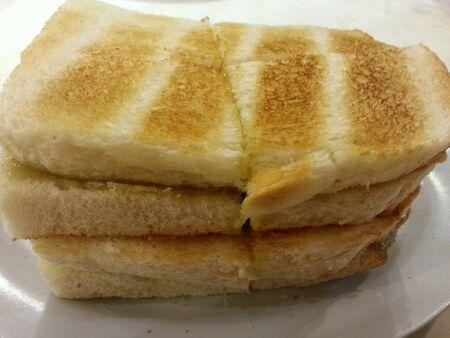 kopitiam: Kaya butter toast breads