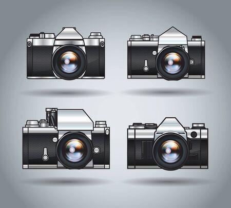 analogue: analogue cameras
