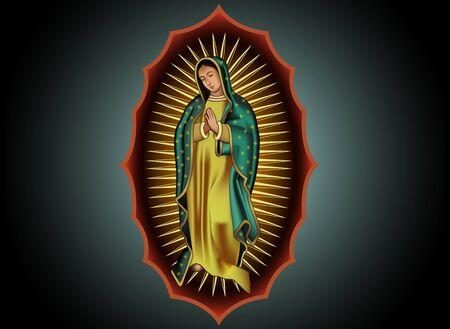 illustrating: Guadalupe design