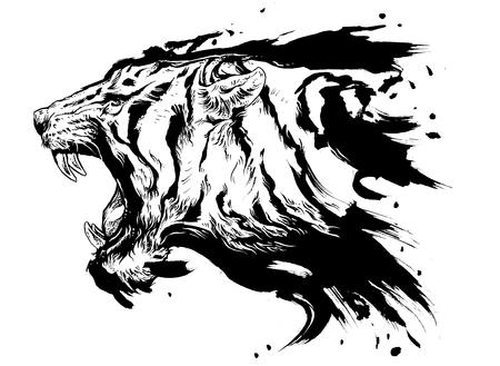 ilustraciones de tigre para otro diseño