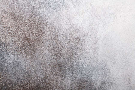 gradient gray concrete wall background with putty texture