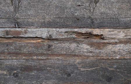 background of old wooden rotten boards Reklamní fotografie