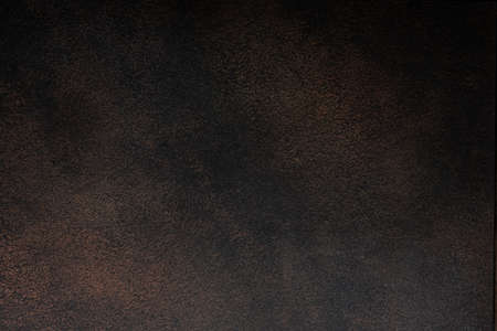 dark brown concrete wall with texture, chocolate background Reklamní fotografie