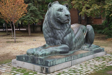 bronze leo in Sofia