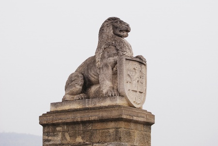 Symbol of Tsarevets, Veliko Tarnovo, Bulgaria