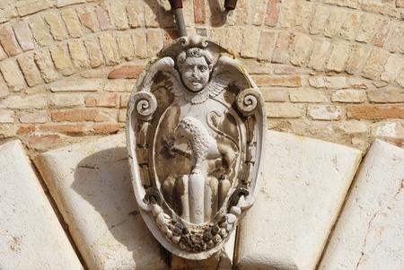 armoiries de Ripatransone, la r�gion des Marches, en Italie
