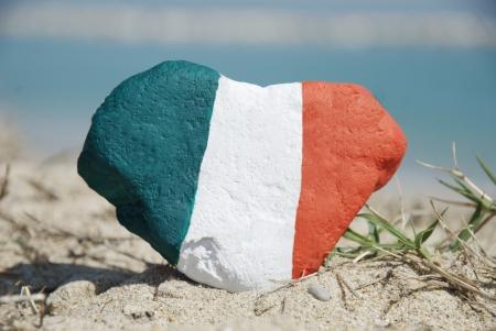 Italie dans mon coeur Banque d'images