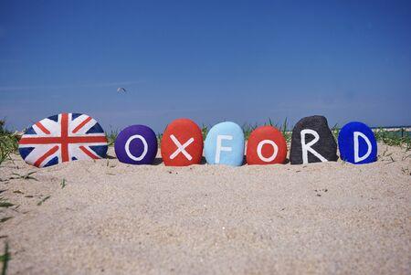 Oxford, Oxfordshire, England, souvernir on stones photo