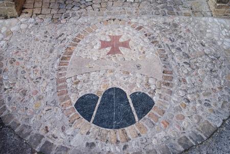 Symbole de la municipalit� de Petritoli, Italie