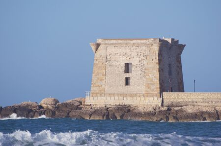 Tower of Ligny, Trapani, Sicily photo