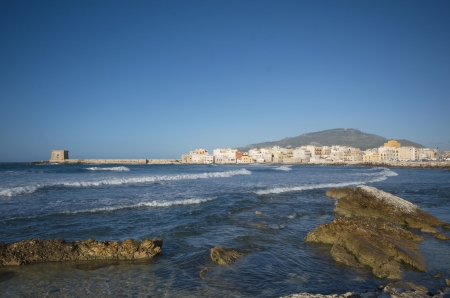 trapani: Trapani view from the sea