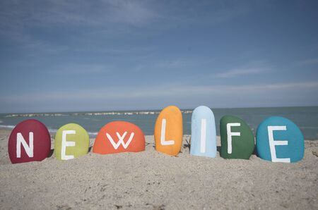 open life: New life, colourful concept
