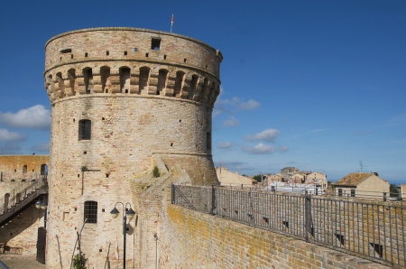 donjon: Donjon of the fortress, Acquaviva Picena, marche region