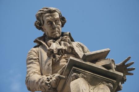 Statue of Luigi Galvani, Bologna, Italy