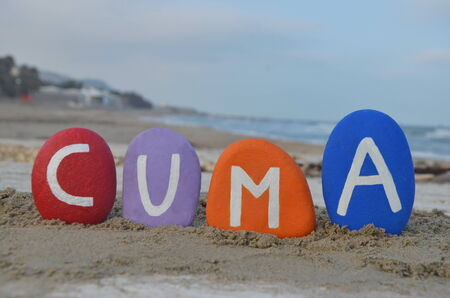 Cuma, friday in turkish language photo