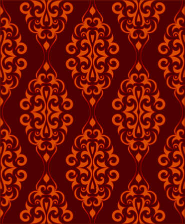 Ornamental wallpaper that will tile seamlessly Stock Vector - 3457314