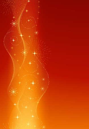 fin de a�o: Descripci�n: Vertical de oro rojo elegante y festivo de antecedentes para Navidad, Nochevieja de A�o Nuevo, aniversarios, etc Vectores