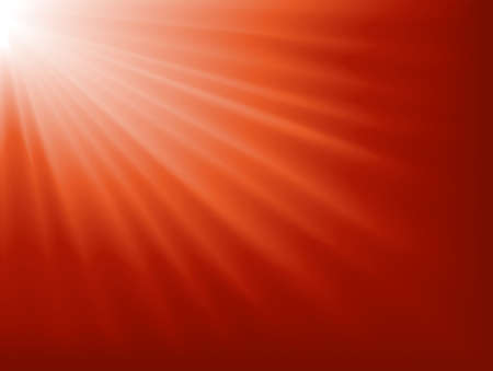 miracles: Abstract background. Light burst from white to dark red. Blend.