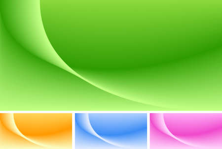 Abstract background in 4 colors. Use of global colors, blends  Vector