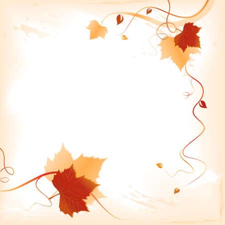 indian light: Plaza oscuro fondo abstracto rojo con hojas de oro y remolinos en la parte inferior y el lado derecho y el espacio para el texto. El uso de mezclas, degradados lineales, colores mundial. Y obras de arte en capas agrupadas.