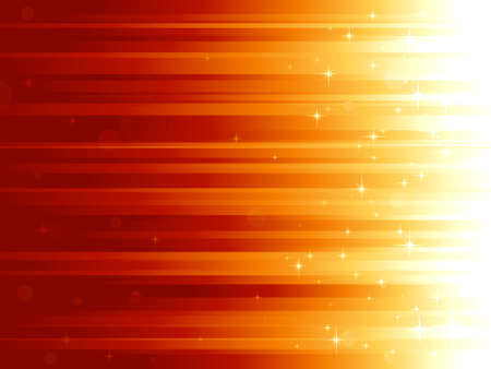 vertically: Red golden festive background with stars and bokeh effect. Stripes controlled by 1 linear gradient. Some light dots with linear gradients. Use of global colors. Can be tiled vertically to custom size Illustration