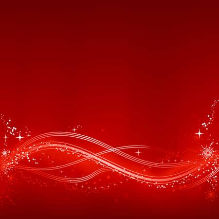 snow flakes: Plein rood witte abstract Kerst achtergrond met sterren, sneeuwvlokken en sterren grunge elementen. Achtergrond van het mengsel met een knip masker, gebruik van 7 algemene kleur stalen.