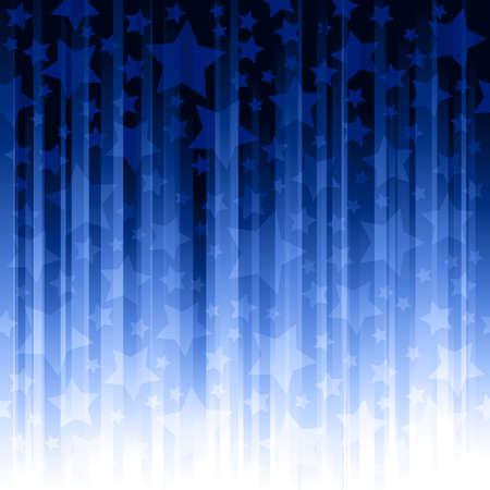 sfondo strisce: Sfondo con striping con stelle. I campioni di colore globale, sfumature lineari, non lucidi.