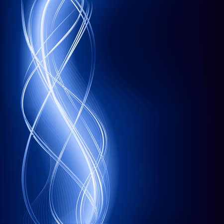 backgroud: Square dark blue backgroud with wavy pattern. Illustration
