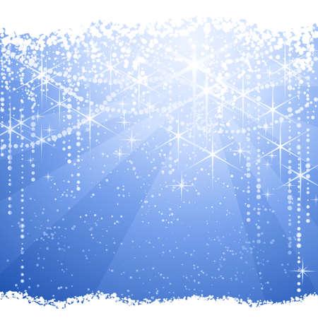 light burst: Quadratische Light burst Hintergrund mit Sternen und Punkten geben eine festliche Stimmung. Gro�artig f�r Winter, Weihnachten oder alle festlichen Thema.