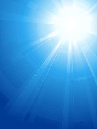 light burst: Abstract vertical Background. Asymmetrische Light burst mit dem Zentrum in die obere Rechte Dritter. Keine Transparentfolien.