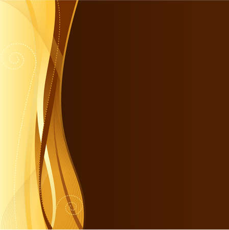 brown background: Gold brown corporate business web template with copy space.