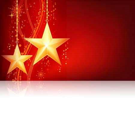 navidad elegante: Tema de Navidad oro rojo