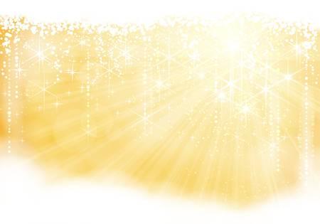 Gouden sprankelende kerstthema (eps10)