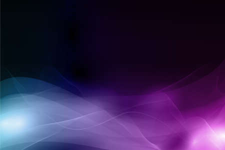Horizontal abstract background with waves forming a soft pattern resembling smoke. Space for your text. EPS10. Vector