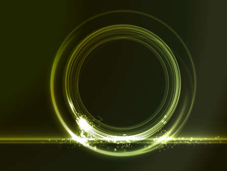 neon green: Green glowing frame on dark background where you can put your message. Light effects give it a neon feeling.