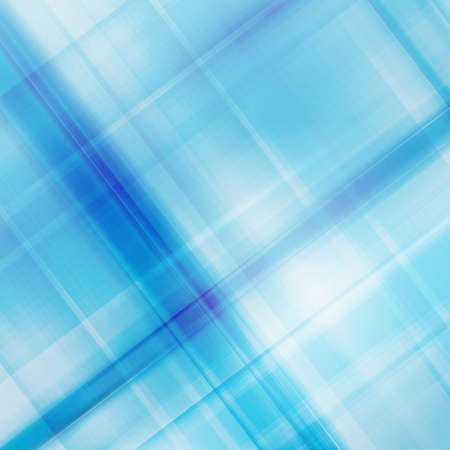 Abstract checked background with light and dark blue semitransparent overlying stripes.