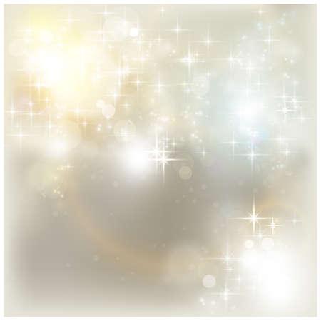 lens flare: Lucide stelle e gli effetti di luce come lens flare e fuori delle luci di messa a fuoco per uno sfondo magico astratto.